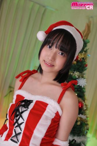 [Moecco] Yunon Yuzuki 夢月ゆのん Moekko Santa Has Arrived 「モエッコサンタがやってきた 」 (Photosets 01 – 05)