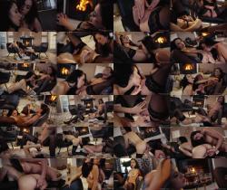 Lesbea.com/SexyHub.com: Sabrisse, Alyssa Bounty - Lustful brunettes sultry seduction [FullHD 1080p] (514.46 Mb)