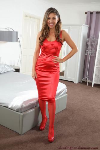 glosstightsglamour chloe french 1068 red full
