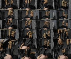 CruelAmazons.com/Cruel-Mistresses.com: Mistress Amanda, Mistress Ariel - Four Boots On His Body [FullHD 1080p] (459.98 Mb)