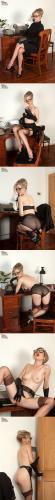VintageFlash  2012-09-17 Michelle Moist - Ravenous In The Office x168